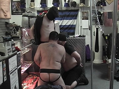 Gay Bears Hairy : TWO burly homosexual hairy guys making oral sex off their dom!
