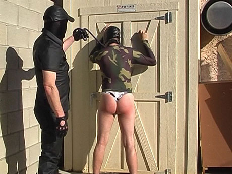 Gay Bears Hairy : Masked homo hairy men spanked and face hole screwed!